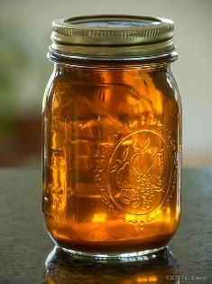 malaysia syrup in a jar