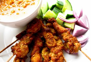 Satay – Chicken – facts and calories