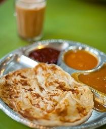 Mamak Breakfast – Teh Tarik and Roti Canai
