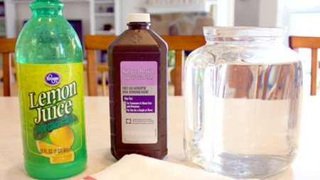 How to make your own Homemade Bleach minus the Death Risks!