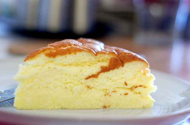 Make your own world-crazed healthy Japanese Cheesecake