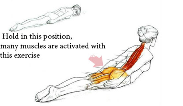 This simple exercise will solve your poor body posture problem for good