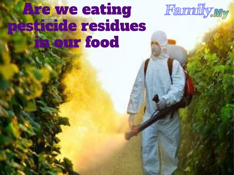 Are we eating pesticide residues in our food