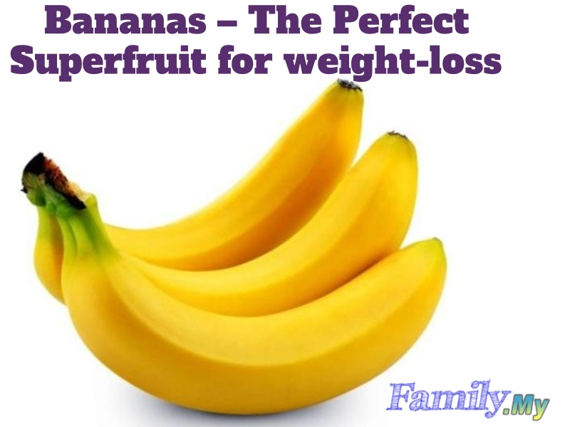 Bananas – The Perfect Superfruit for weight-loss