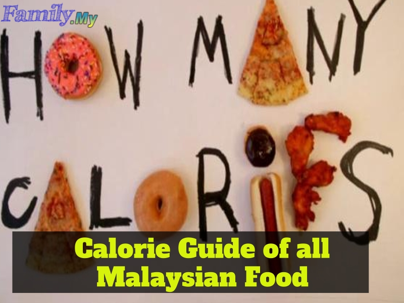 Calorie Guide of all Malaysian Food