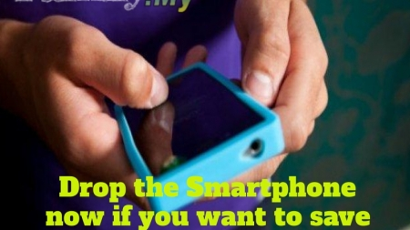 Drop the Smartphone now if you want to save your spine