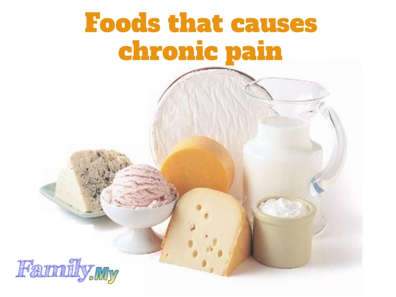 Foods that causes chronic pain