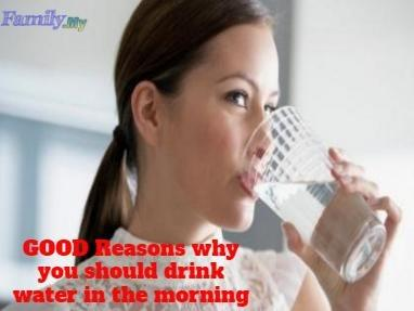 GOOD Reasons why you should drink water in the morning