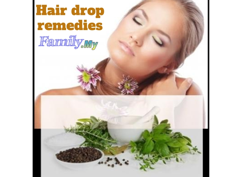 Hair drop remedies