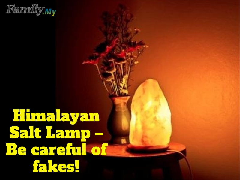 Himalayan Salt Lamp – Be careful of fakes!