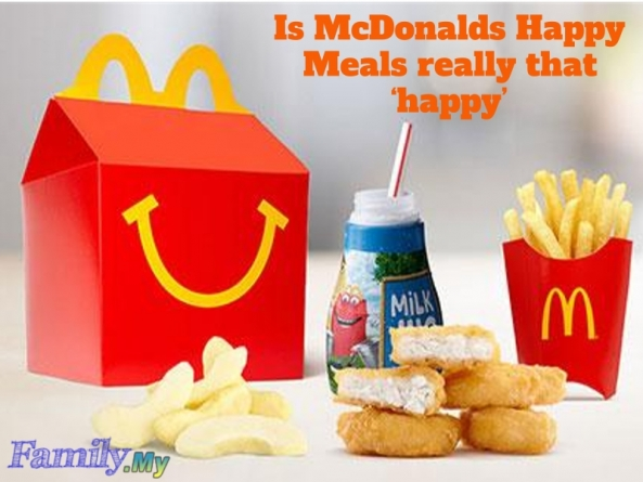 Is McDonalds Happy Meals really that 'happy'?