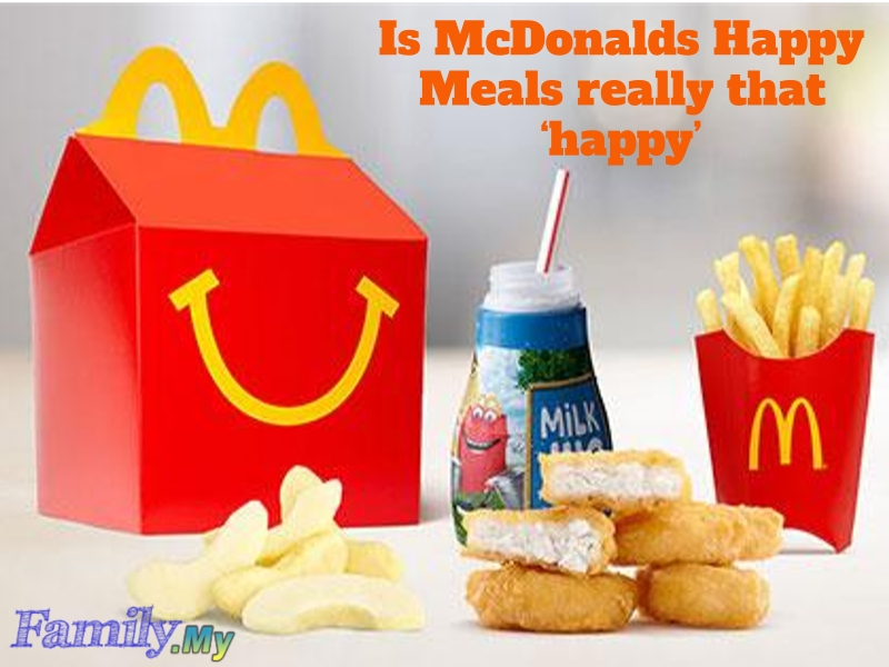 Is McDonalds Happy Meals really that 'happy'