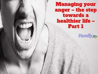 Managing your anger – the step towards a healthier life – Part 1