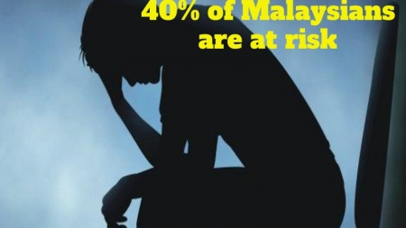 Mental Illness – 40% of Malaysians are at risk