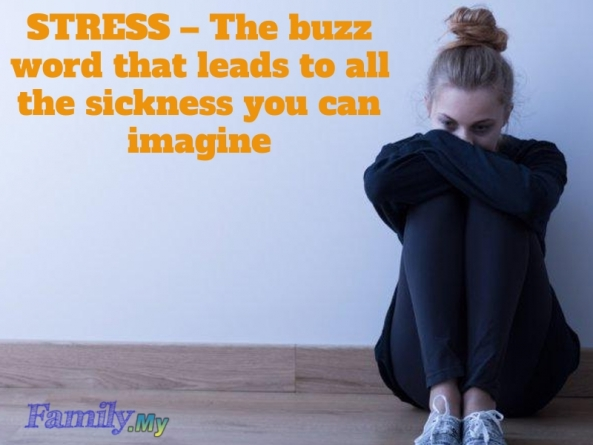 STRESS – The buzz word that leads to all the sickness you can imagine