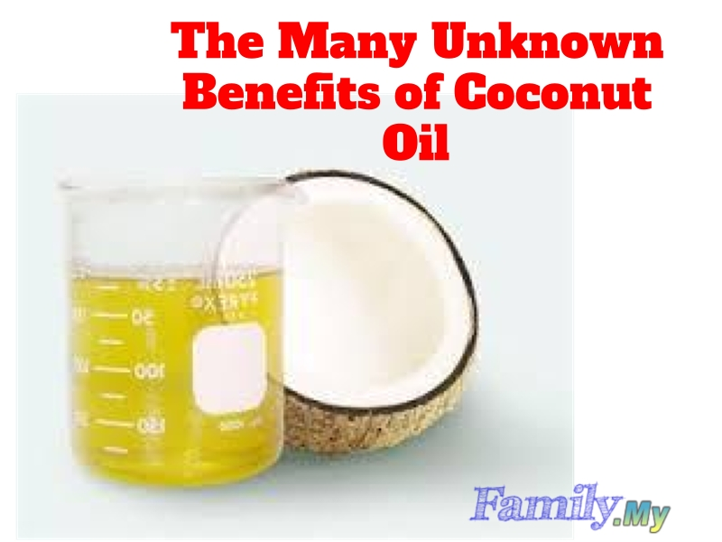 The Many Unknown Benefits of Coconut Oil