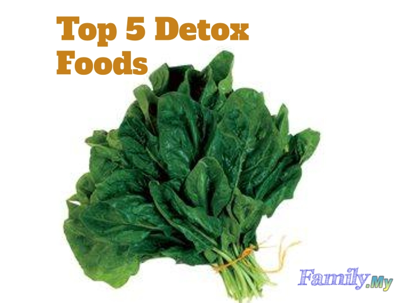 Top 5 Detox Foods