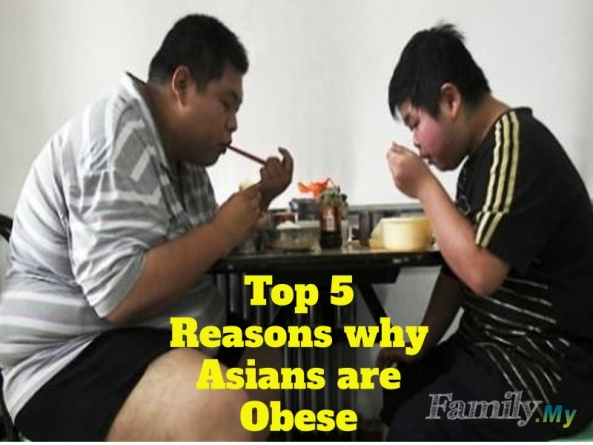 Top 5 Reasons why Asians are Obese