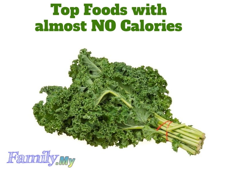 Top Foods with almost NO Calories