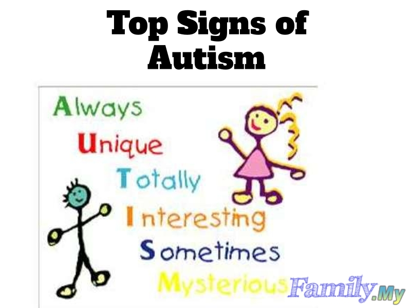 Top Signs of Autism