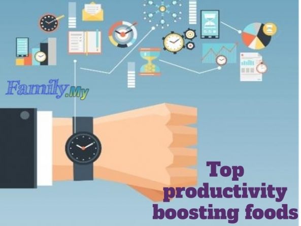 Top productivity boosting foods