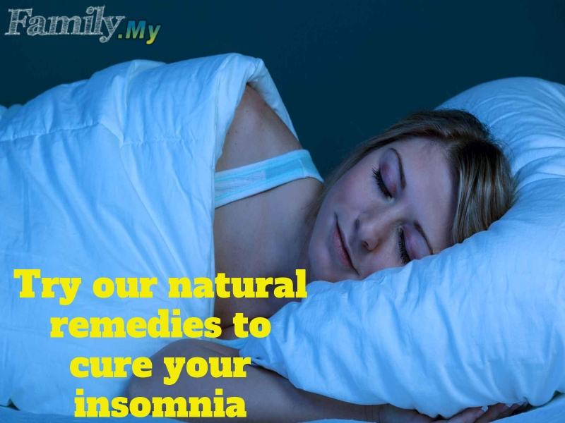 Try our natural remedies to cure your insomnia