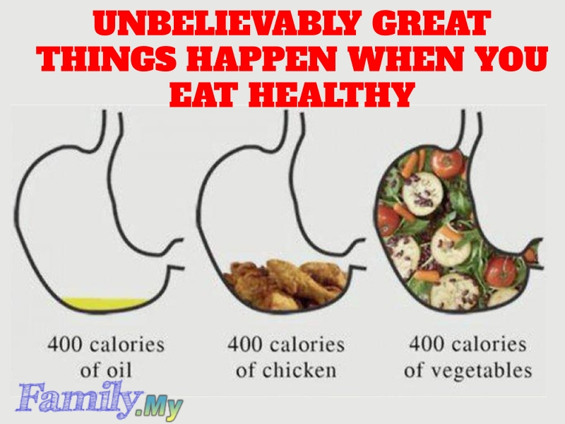 Unbelievably Great Things Happen When You Eat Healthy