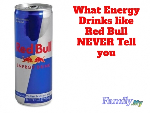 What Energy Drinks like Red Bull NEVER Tell you