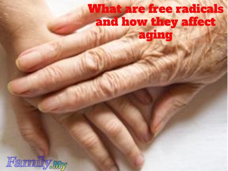 What are free radicals and how they affect aging