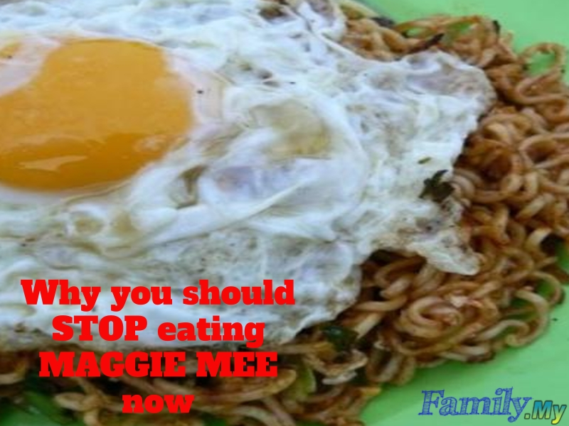 Why you should STOP eating MAGGIE MEE now